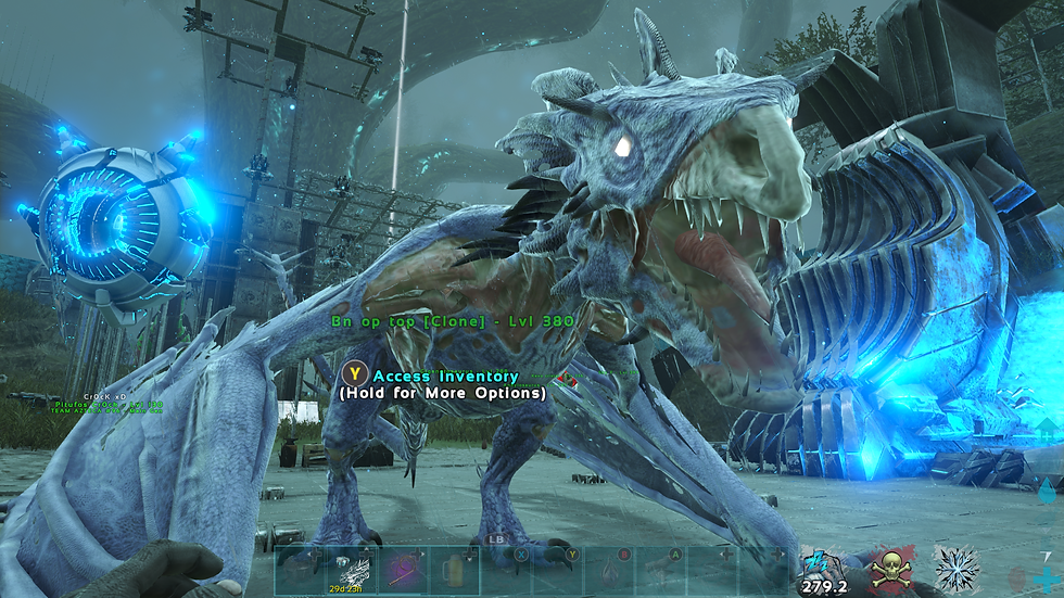 Top stats zombie lightning wyvern!! Rare tame