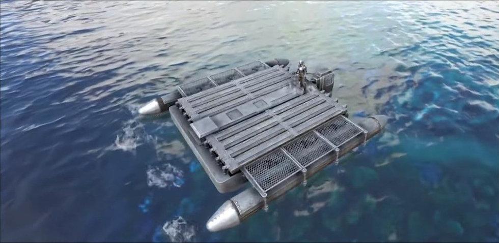 Motorboat base bundle
