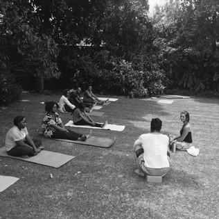 Yoga in Africaid Zimbabwe