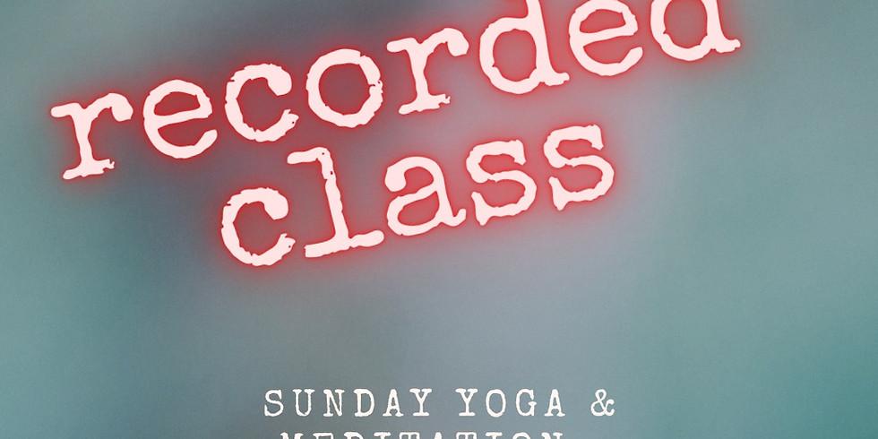 10:00-11:15 CEST Sundays Yoga Kundalini & Meditation.