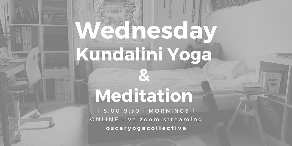 08:00-09:30 CEST Wednesday Kundalini yoga.