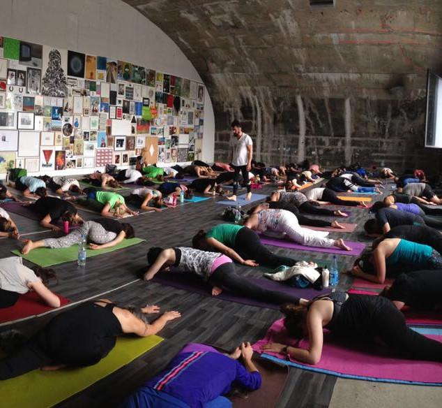 Art meets Yoga