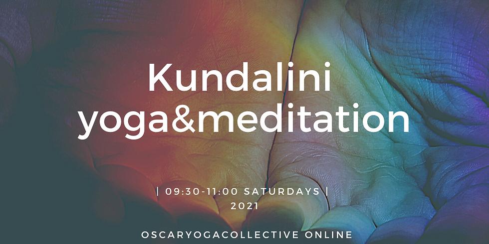 09:30-11:00 CEST Saturday Kundalini Yoga & Meditation.