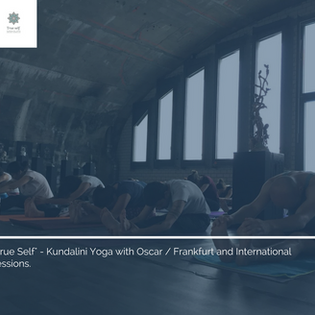 """""""You are that""""-Yoga session"""