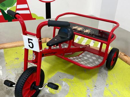 """とっても頑丈な三輪車""""ウインザー"""""""