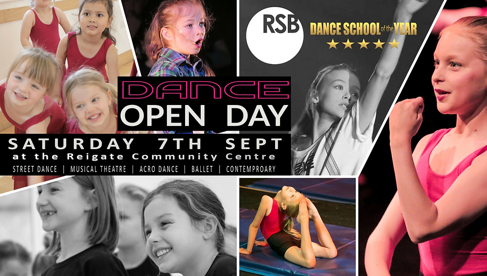 Dance Open Day Reigate