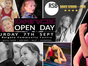 Reigate Dance Open Day - Very few places remaining!!