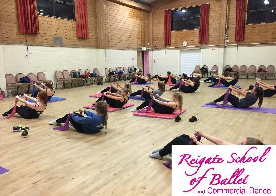 dance exercise classes reigate