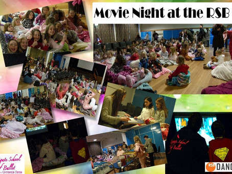 Reigate dance kids go to the movies