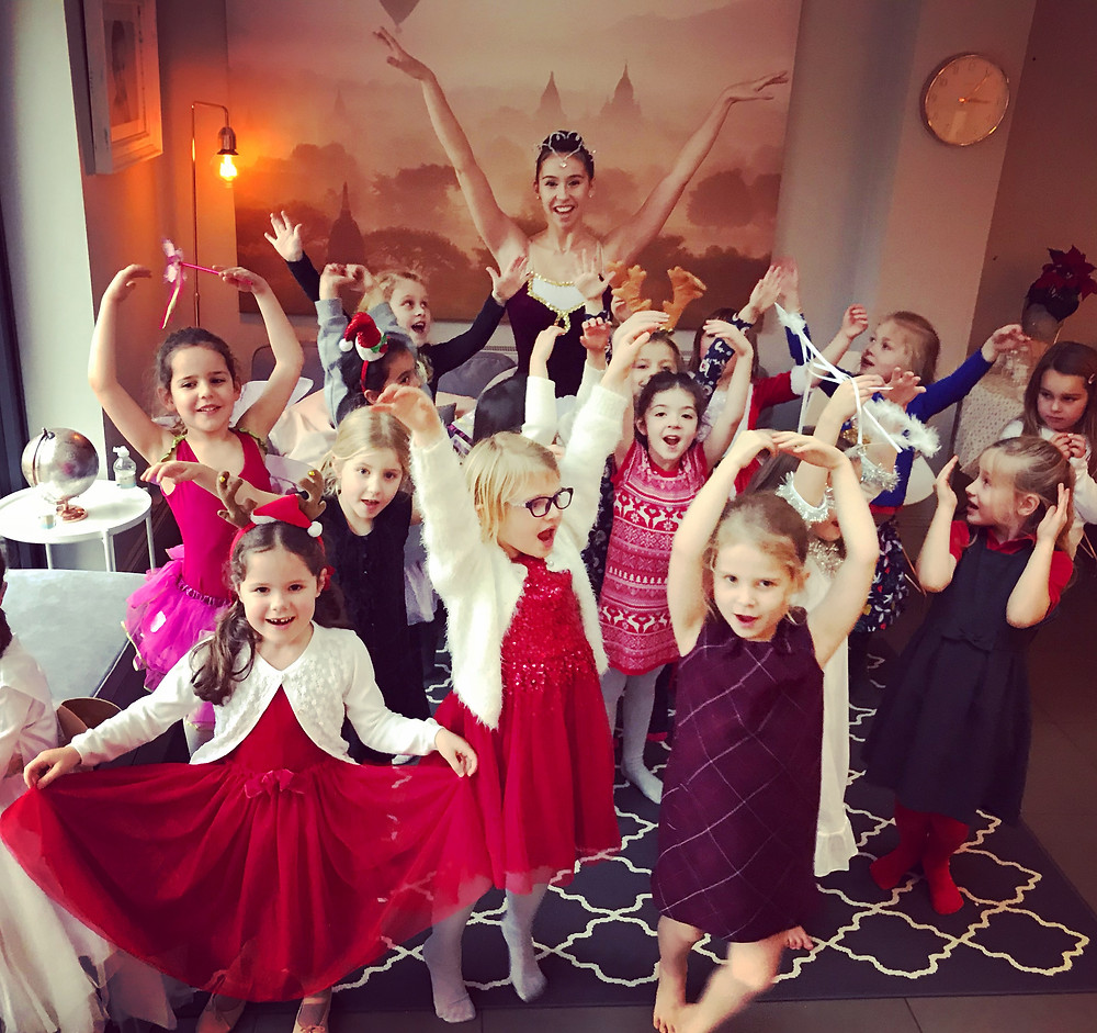 children's dance parties in reigate