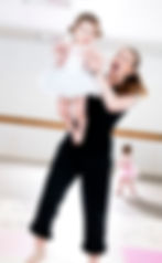 mother and toddler dance Dorking