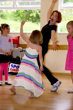 dancing parties in reigate