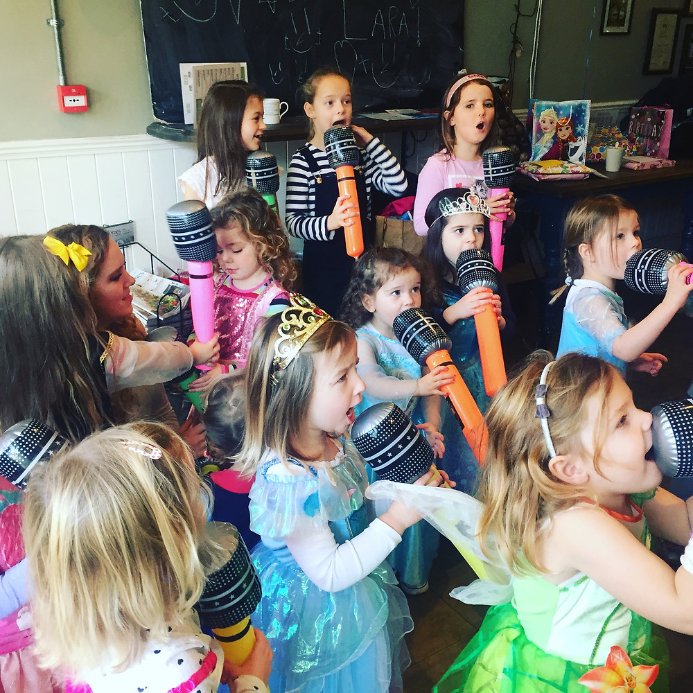 kids dance parties in reigate