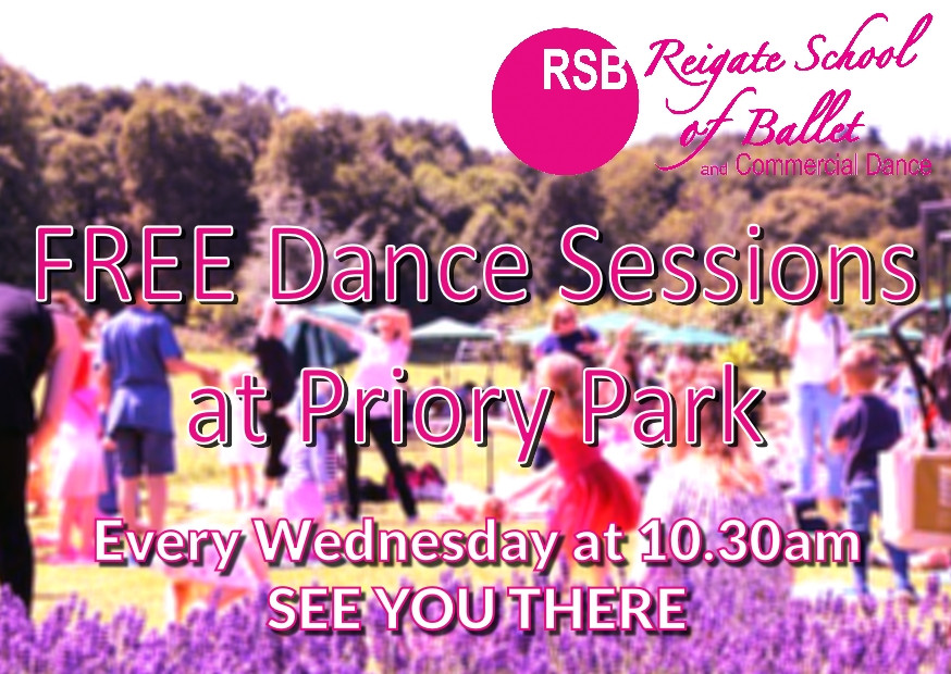 Free Dance Reigate Priory Park