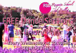 Free Dance Reigate Priory Park