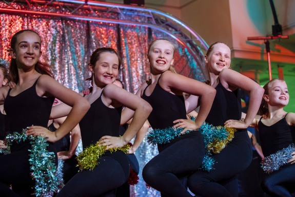 Smiles all round from our starlighters who performed with real flair at the Belfry Xmas Lights