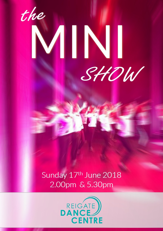 RSB Dance mini show - Reigate Redhill