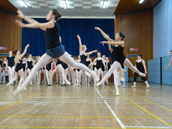 Reigate School of Ballet - rehearsal