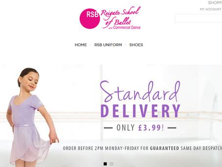 NEW - Reigate Dance Shop opens online