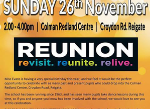 Reigate Dance Centre Reunion Party