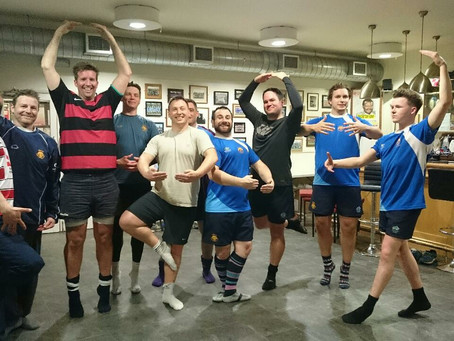 Dance and Rugby in Reigate