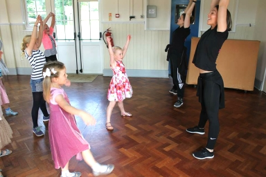 childrens dance party