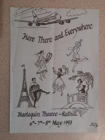 Reigate Dance programme 1993