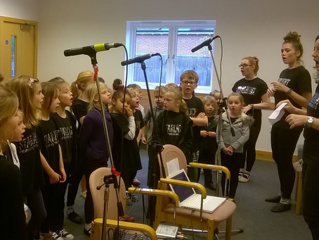 Musical Theatre Recording session - Reigate