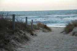 Zugang Strand