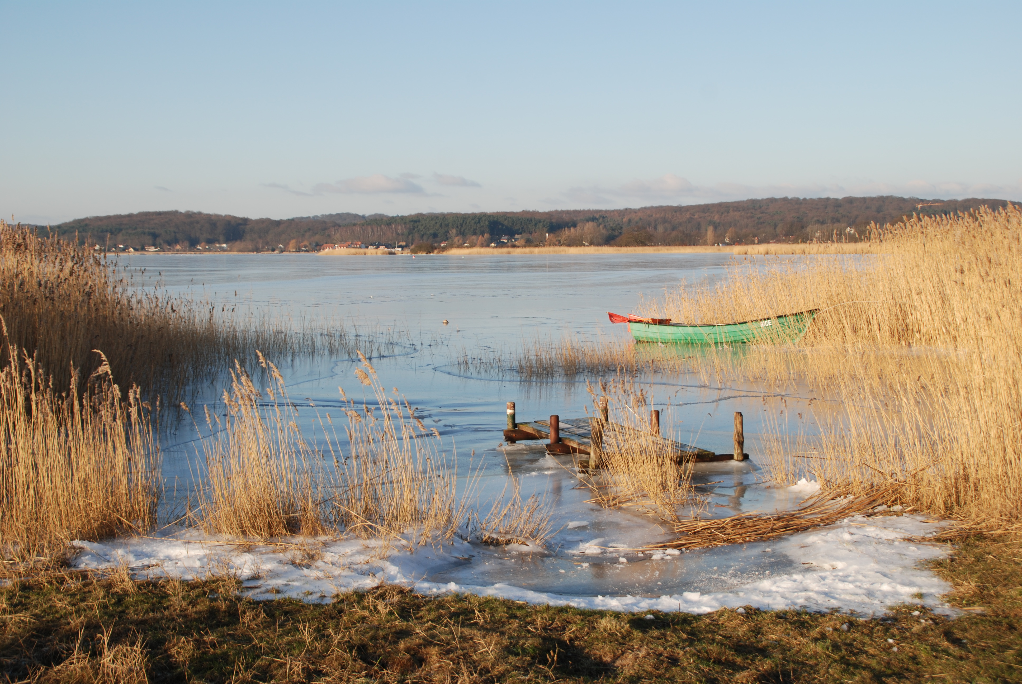 Selliner See im Winter