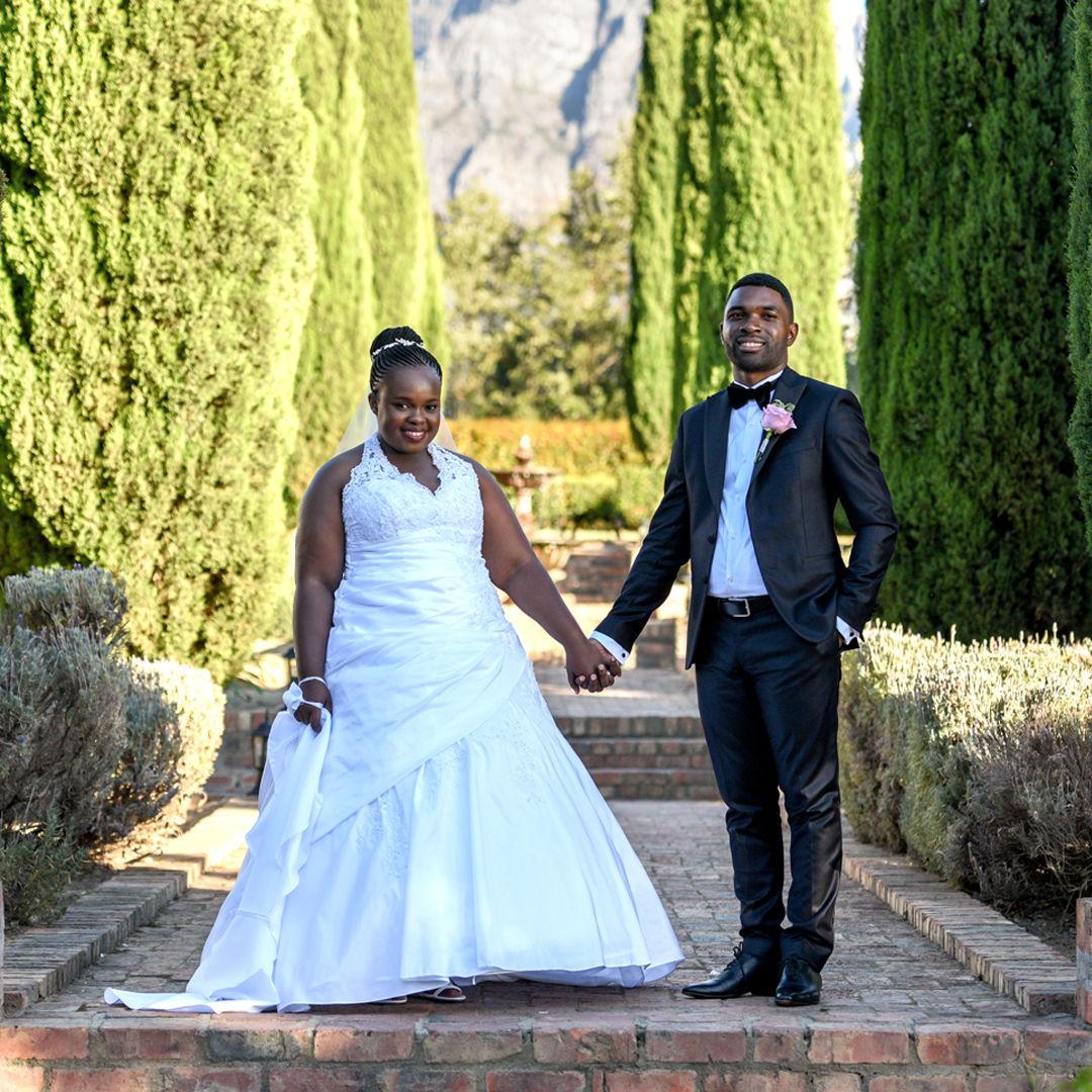 admired in africa wedding at ashanti estate paarl south africa