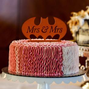 Mary & Kayla's Batman-themed wedding at the Campus Club | Minneapolis Minnesota
