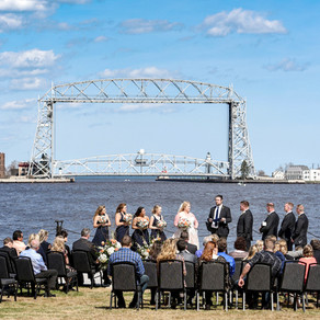 Nicole & Justin Tie the Knot at Pier B Resort | Duluth Minnesota