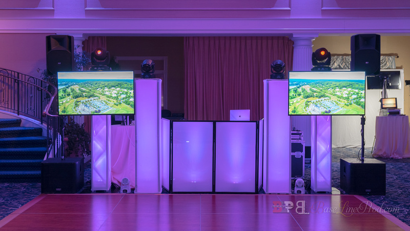 Wedding with Tvs
