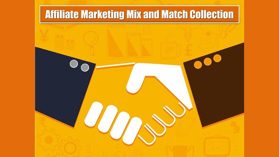 Affiliate Marketing MIX and MATCH COMPLETE Collection