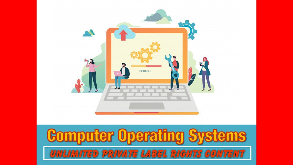 Computer Operating Systems Private Label Content Pack