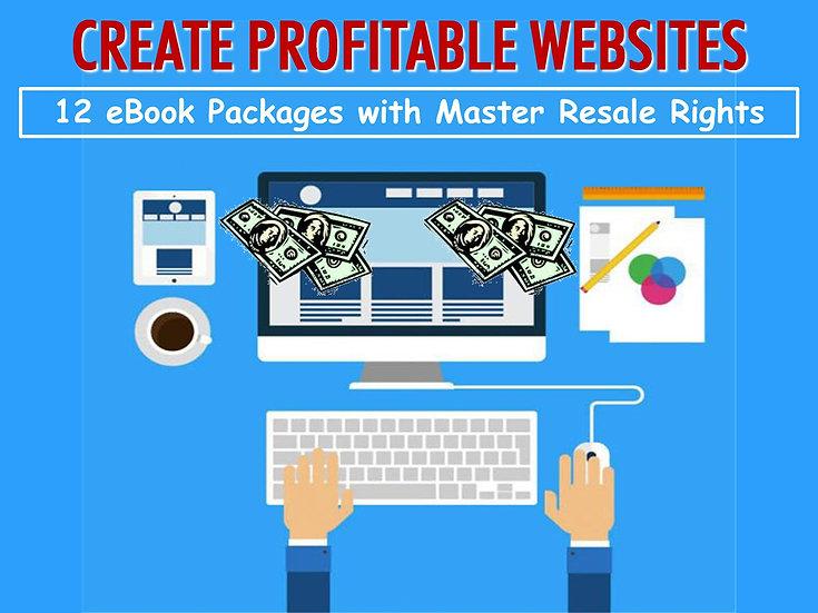 Create Profitable Websites eBook Bundle