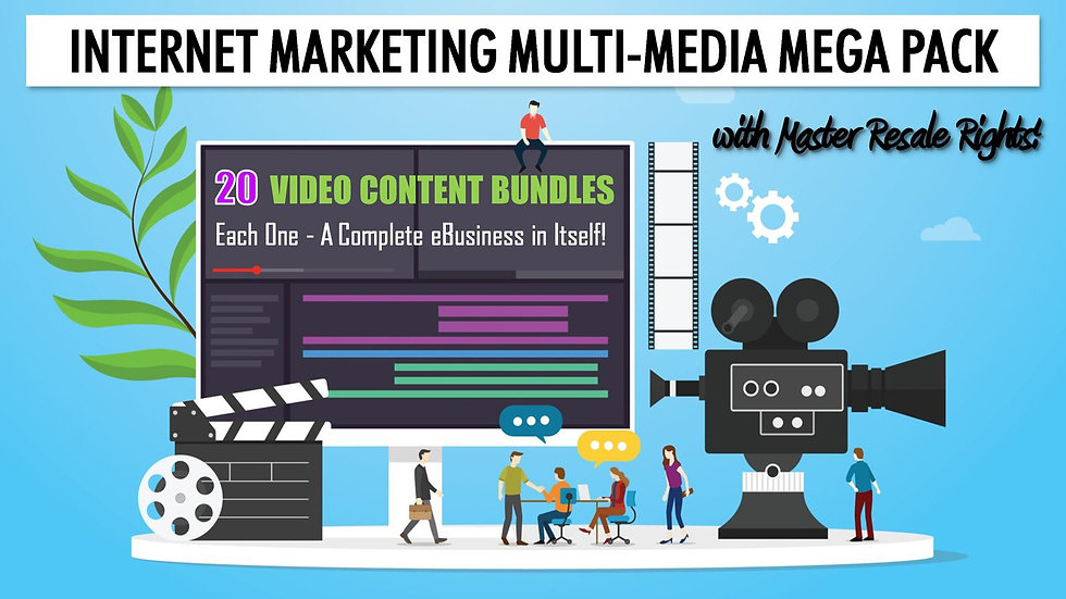 Internet Marketing Multi-Media MEGA Pack