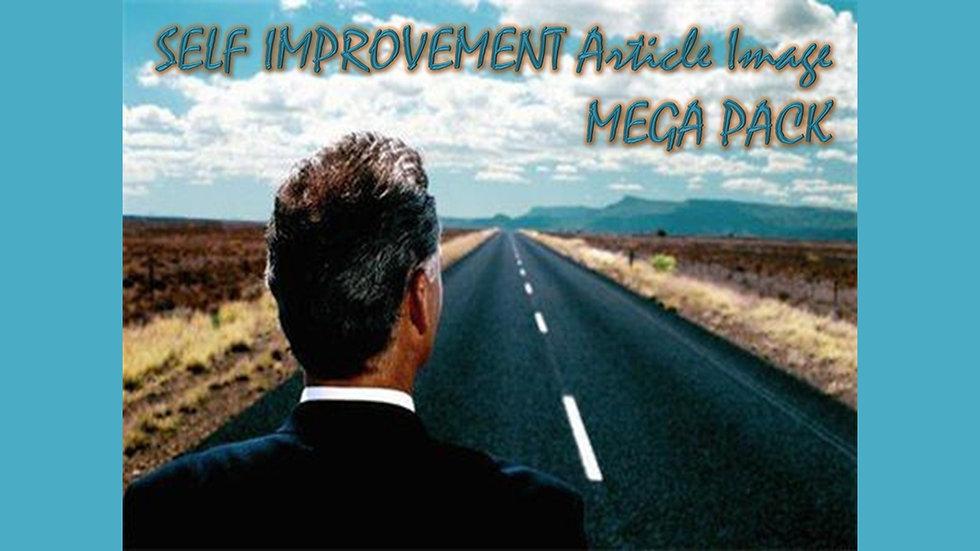 Self Improvement Article and Image MEGA Pack