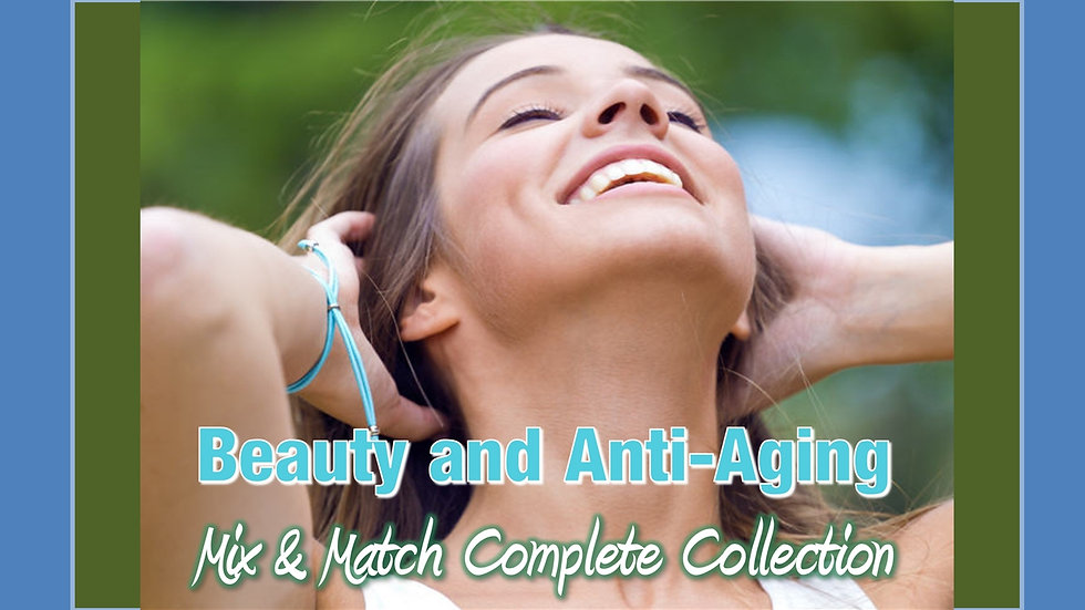 Beauty and Anti-Aging Mix and Match COMPLETE Collection