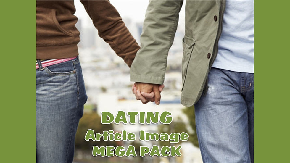 Dating and Online Dating PLR Article and Image MEGA Pack