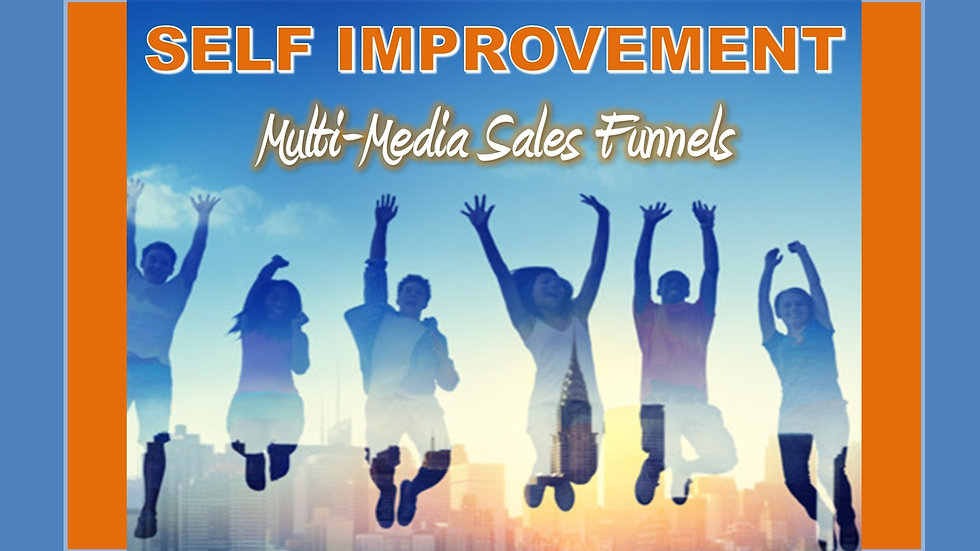 Self Improvement Mix and Match Multimedia Sales Funnels
