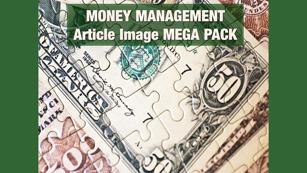 Money Management Article and Image MEGA Pack