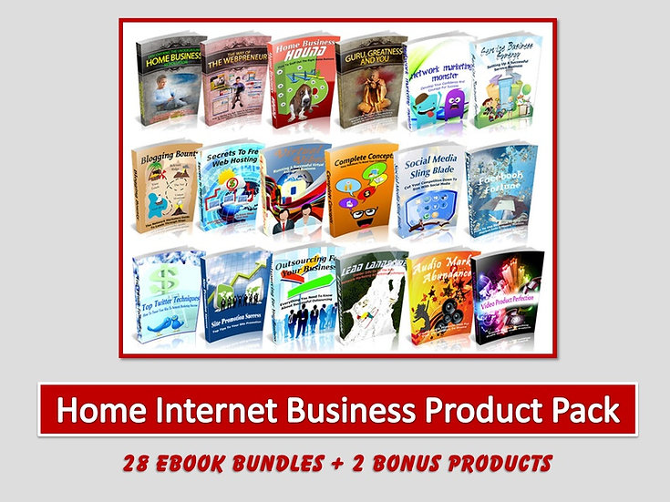 28 Home Internet Business Product Pack