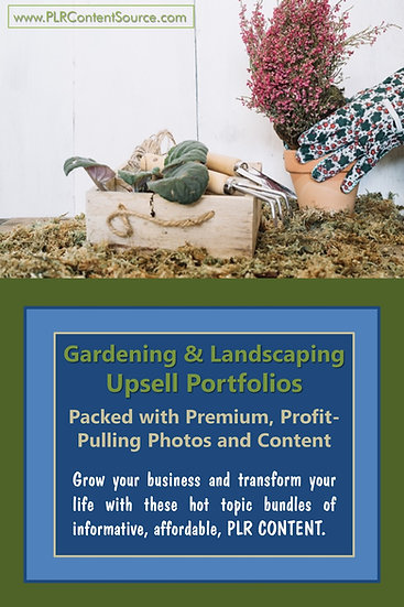 Gardening and Landscaping Upsell Content Collection