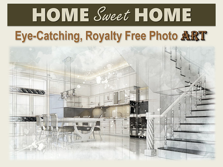 HOME Sweet HOME Photo Art Collection