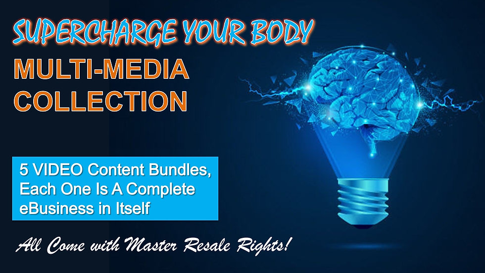 Supercharge Your Body Multi-Media Collection