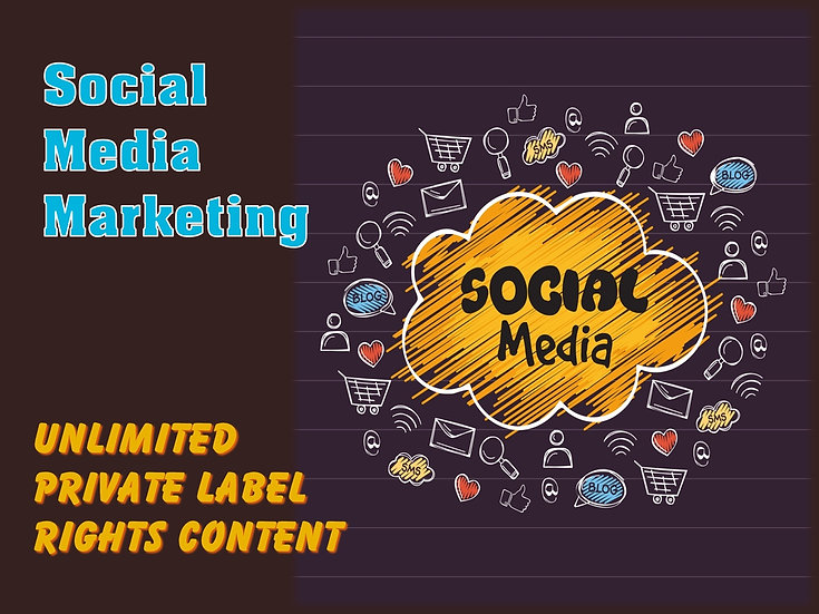 Social Media Marketing Unlimited PLR Pack