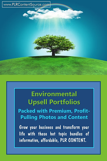 Environmental Upsell Content Collection