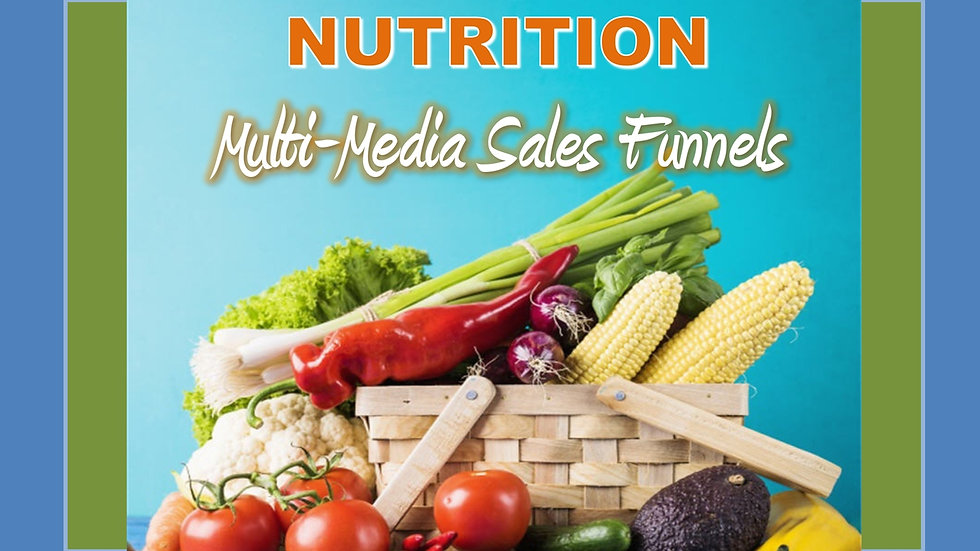 Nutrition Mix and Match Multimedia Sales Funnels